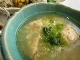 朝食に!サムゲタン風ぽかぽか生姜スープ