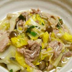 白菜と豚肉のトロッと煮