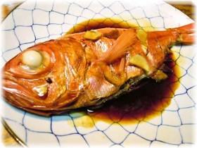 金目鯛の煮付け☆煮魚の黄金比
