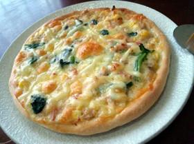 トースターで簡単!生地から作る自家製ピザ