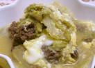 すき焼き風♡白菜と牛肉の卵とじ♪