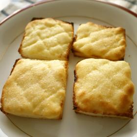 朝食♪おやつに♫ メロンパントースト♡