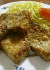 高野豆腐と焼肉のタレで 豪華なカツ☆彡
