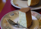 オレンジ香るシフォンケーキ
