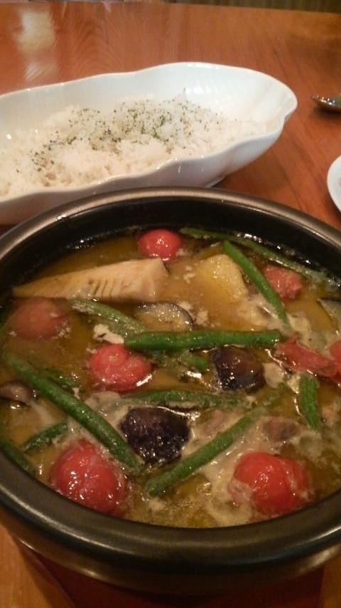タイ料理大好き!…のグリーンカレー☆