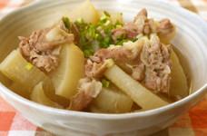 簡単♡♥大根と豚肉のさっぱり煮(減塩)