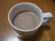 きれいなコーヒーエキスでホットココアの写真