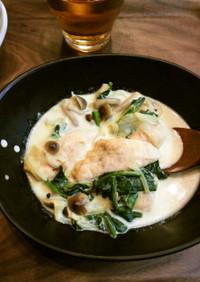 ☆鶏ささみのカレークリーム煮☆