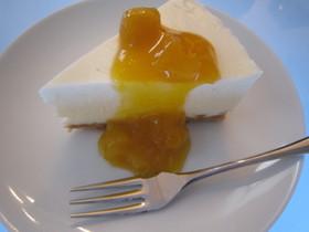 簡単♪レアチーズケーキ