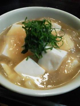 冷え症・風邪に豆腐の大根トロトロ☆