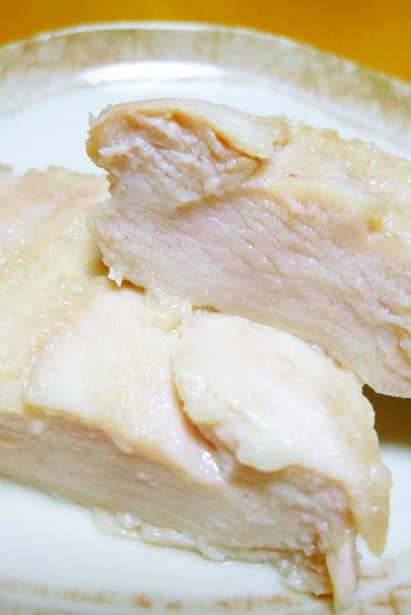 *ルクエde鶏むね肉の塩麹蒸し鶏*