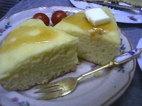 炊飯器ケーキ☆はちみつケーキ