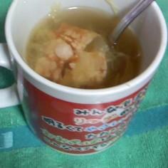マグカップで☆千切りキャベツのスープ∀