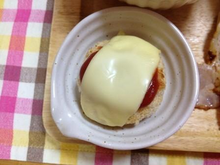 トロッと熱々チーズコロッケ