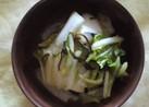 いつかあなたと 祖母と私の白菜のお漬物