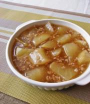 温まる~!大根と豚ひき肉のトロトロ煮の写真