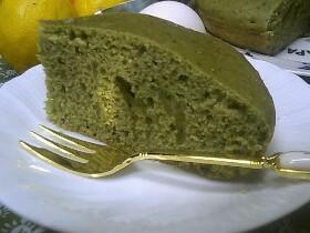 炊飯器ケーキ☆抹茶ケーキ