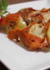 タラとじゃがいものチーズ焼き
