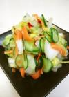 塩麹で☆白菜のスタミナ漬け☆