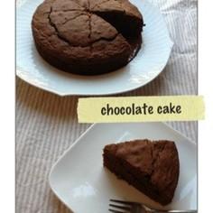 ホットケーキミックスdeチョコケーキ