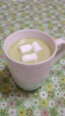 白ココアdeほっこり抹茶ホワイトショコラ