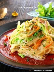 ■超うまい!白菜とツナの春雨サラダ■の写真