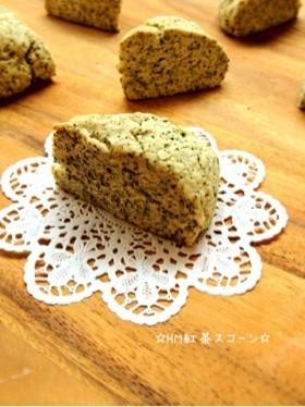 ☆HM紅茶スコーン☆