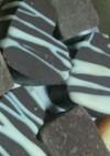 型抜きチョコレート