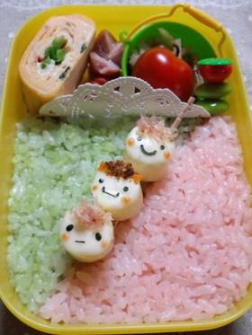お弁当に☆キャンディチーズ団子兄弟