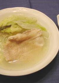 ☆鶏ももと白菜の土鍋煮込み☆