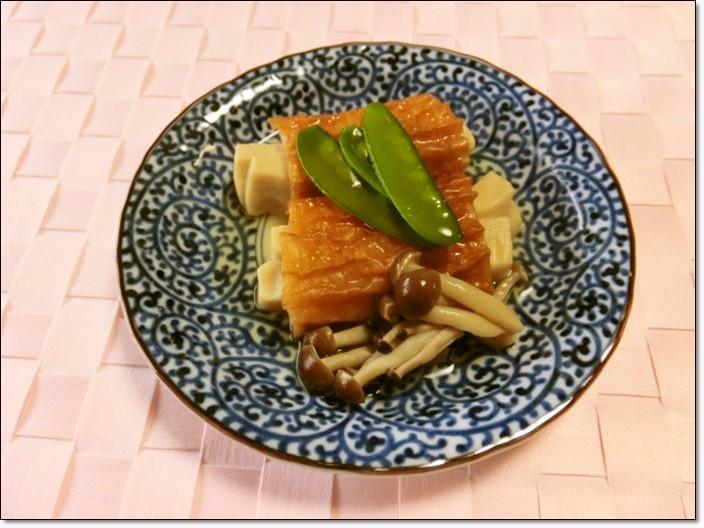 ちくわと高野豆腐の煮物~♬
