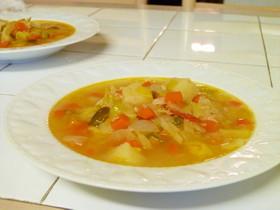 具だくさん野菜スープで体ぽかぽか!