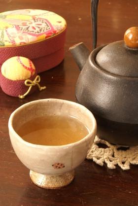 余った節分の豆で 福豆焙じ茶