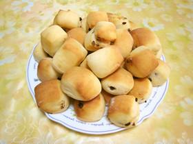 ひとくち★チョコチップパン(HB使用)