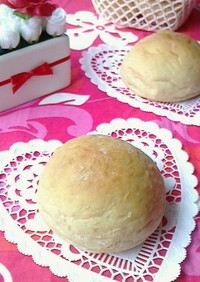 モッチリ〜♪黒糖さつま芋パン