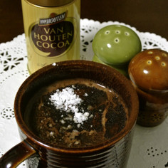 ちょいリッチ*雪の日の*蜂蜜豆乳ココア