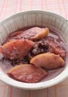 シャトルシェフりんご赤ワイン甘酒デザート
