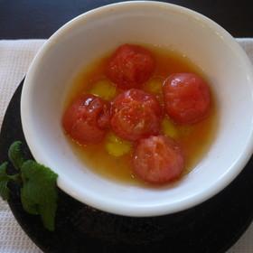 美肌&ダイエット! レンジでホットトマト