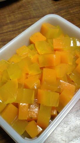 ダイエットに☆かぼちゃ寒天