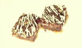 チョコレート ラズベリー レイヤーバー
