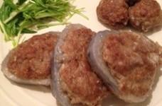 レンコンの肉詰め☆椎茸の肉詰め