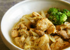 鶏肉の粒マスタード煮