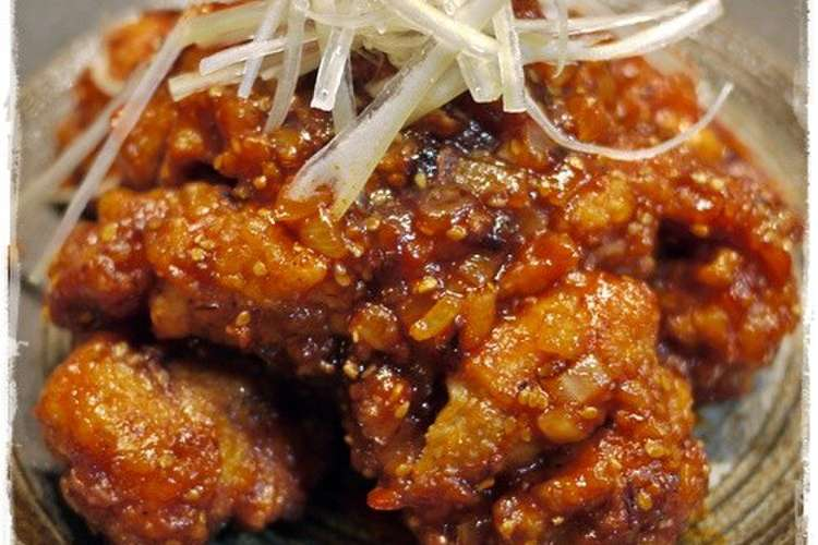 チキン 人気 ヤンニョム レシピ