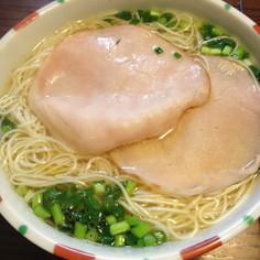 鍋ひとつで簡単インスタント煮麺(にうめん