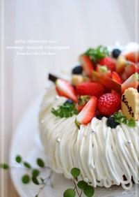可愛い♡ココアのエンゼルケーキ