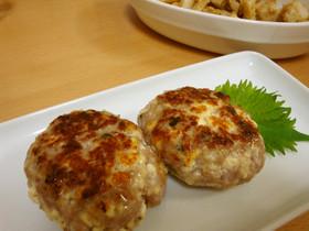 塩麹入り♡豆腐ハンバーグ