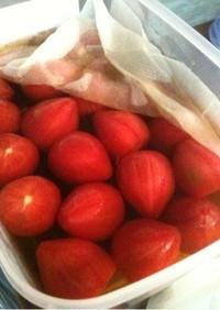 トマトの冷製おでん