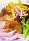 サクサク豚肉と長いもの黒酢豚☆鎮江酢豚☆