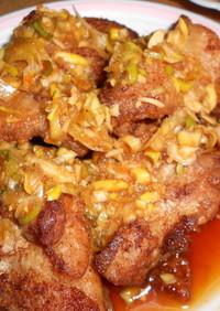 鶏のから揚げ 油淋鶏ソースかけ プロの味