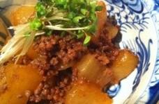 ☆大根とひき肉の煮物☆